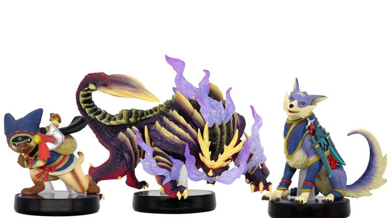 Amiibo из серии Monster Hunter: Rise появились в продаже в Мир Nintendo!