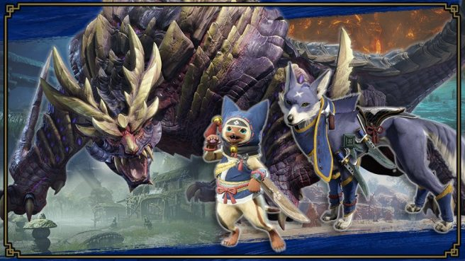 В Super Smash Bros. Ultimate появятся духи из Monster Hunter Rise