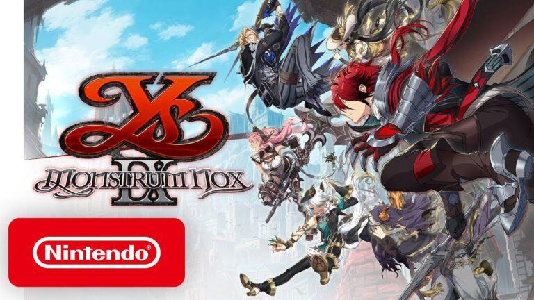 Ys IX: Monstrum Nox выйдет на Nintendo Switch 9 июля