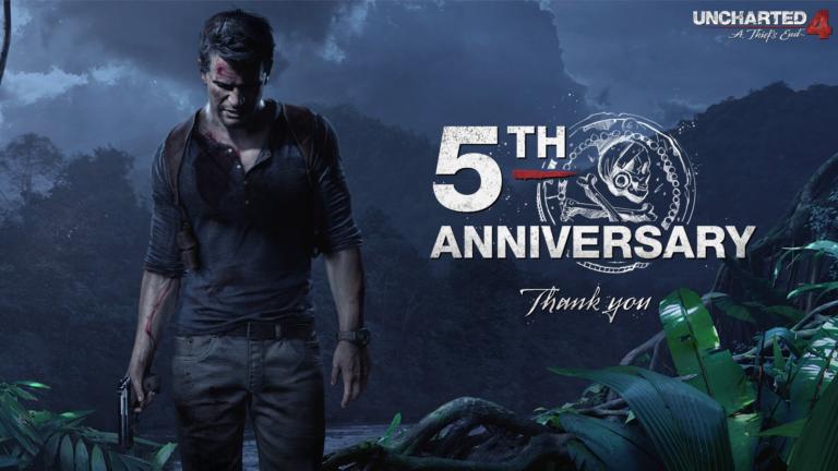 Naughty Dog поделилась статистикой Uncharted 4 в честь 5-летия игры