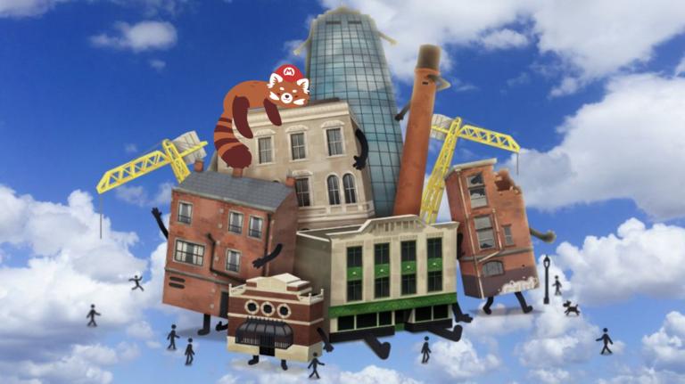 Видеообзор Buildings Have Feelings Too! – живой город