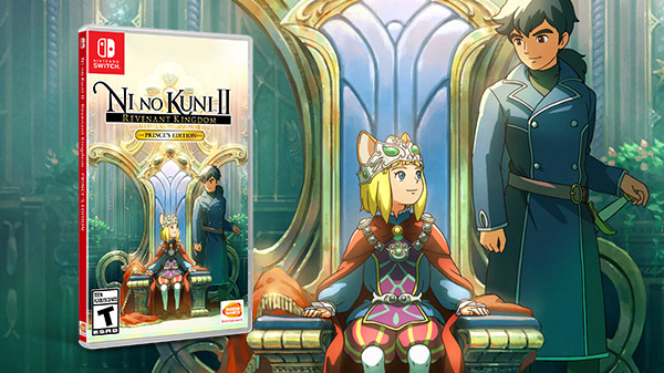Read more about the article Ni no Kuni II: Revenant Kingdom – Prince's Edition выйдет на Switch!