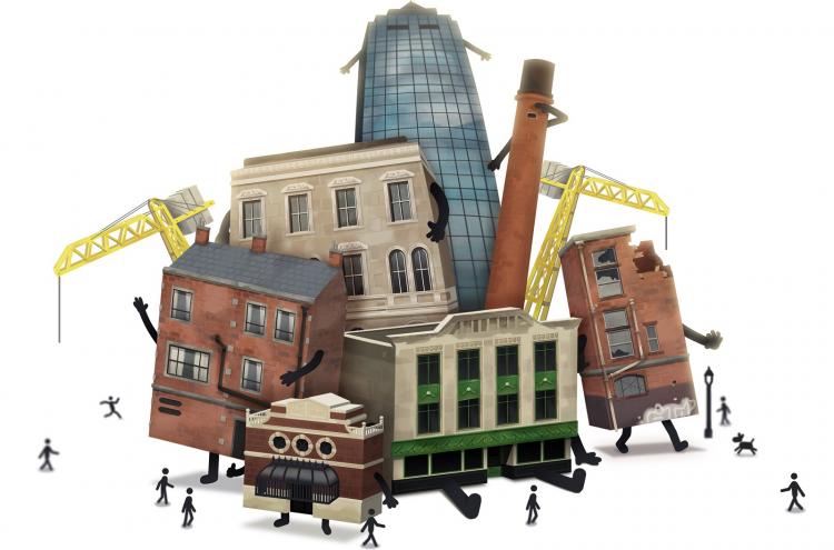 Обзор Buildings Have Feelings Too! – живой город