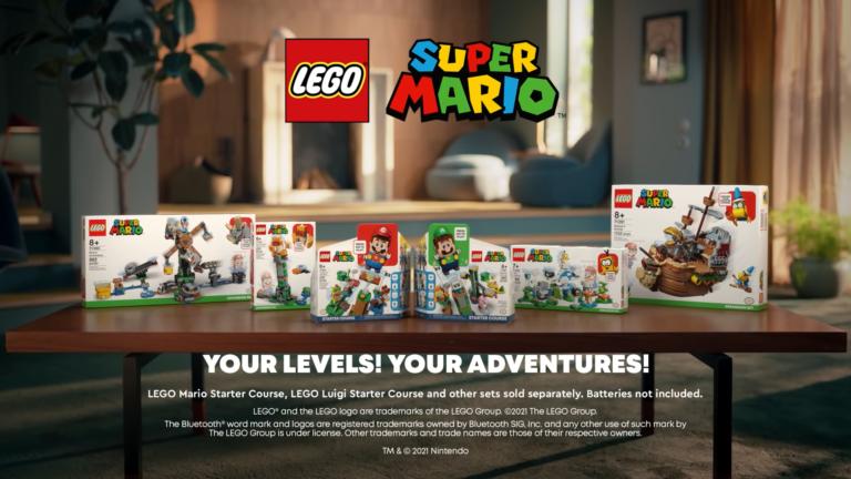 Read more about the article Nintendo и LEGO анонсировали новые совместные наборы Super Mario и Luigi