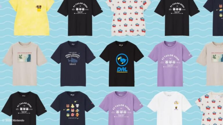 Read more about the article В Uniqlo уже доступна коллекция по Animal Crossing!