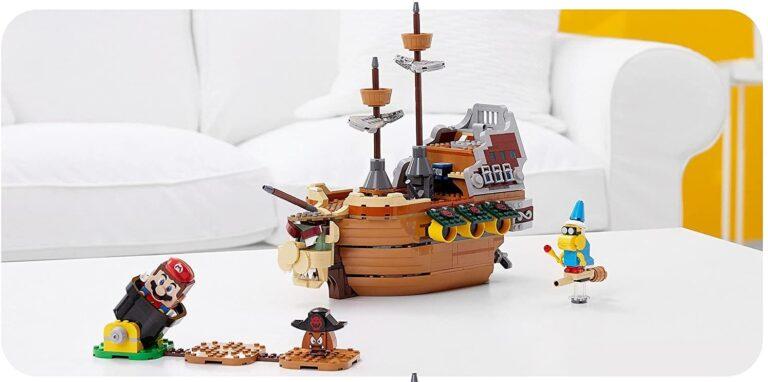 Read more about the article Австралийский Amazon слил фото нового набора LEGO Super Mario