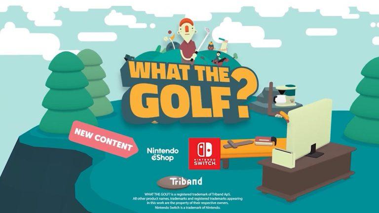 Для What the Golf? вышло крупное обновление на Switch