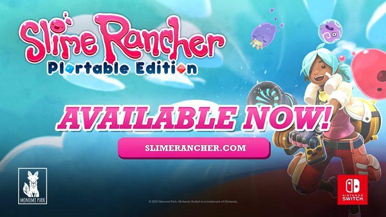 Read more about the article Slime Rancher: Plortable Edition выйдет сегодня на Nintendo Switch