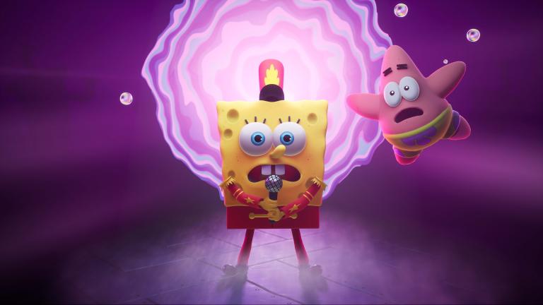 Анонсирована SpongeBob SquarePants: The Cosmic Shake