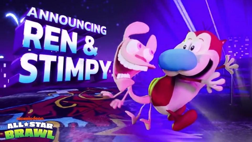 Рен и Стимпи появятся в Nickelodeon All-Star Brawl
