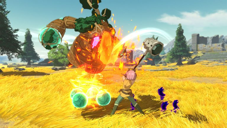 Геймплей Switch версии Ni no Kuni II: Revenant Kingdom – The Prince's Edition